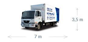7m x 3.5m truck