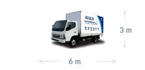 6m x 3m truck